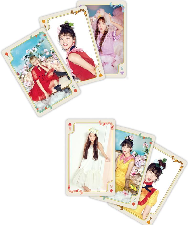 OH MY GIRL COLORING BOOK OFFICIAL GOODS PLAYING CARD Kpopgate