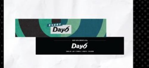 DAY6 EVERY Day6 CONCERT IN MAY OFFICIAL GOODS K-POP SLOGAN