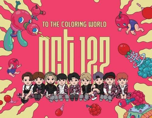 NCT 127 K POP COLORING BOOK SEALED Kpopgate