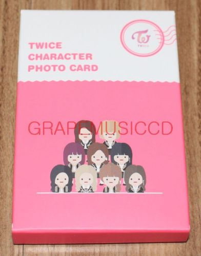 TWICE CHARACTER POP-UP STORE OFFICIAL GOODS CHARACTER PHOTOCARD