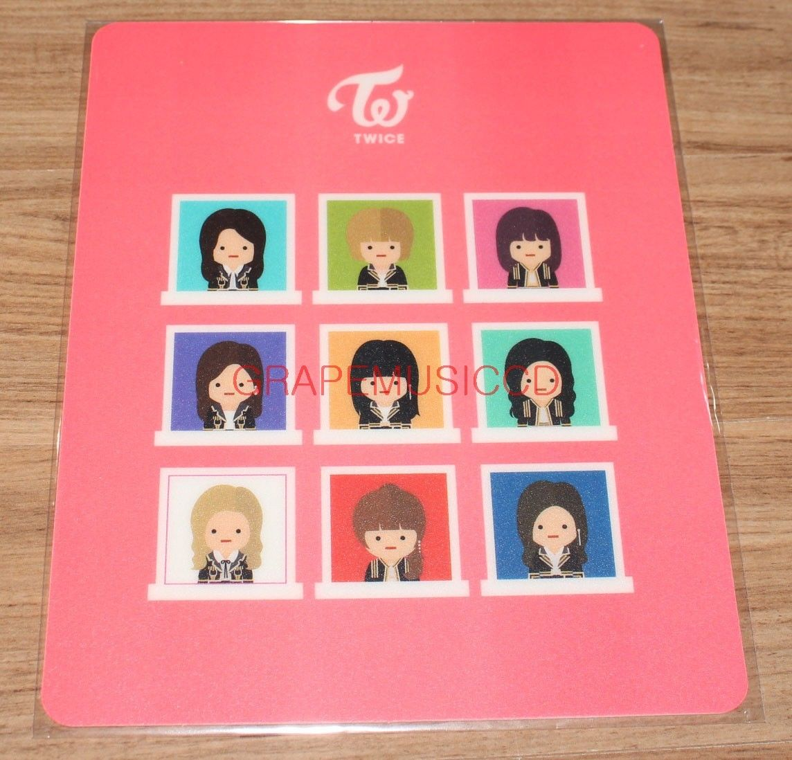 TWICE CHARACTER POP-UP STORE OFFICIAL GOODS CHARACTER MOUSE PAD NEW