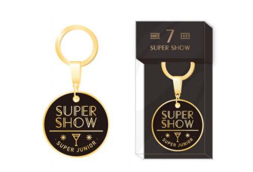 SUPER JUNIOR WORLD TOUR SUPER SHOW 7 OFFICIAL GOODS KEY RING KEYRING