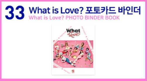 TWICE 2ND TOUR TWICELAND ZONE 2 Fantasy Park GOODS What is Love