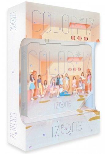 IZ*ONE IZONE COLOR*IZ 1st Mini Album COLOR Ver  KIHNO ALBUM + PHOTO
