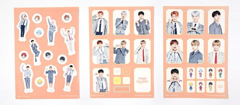 BANGTAN BOYS BTS Happy Ever After 4th MUSTER OFFICIAL GOODS STICKER