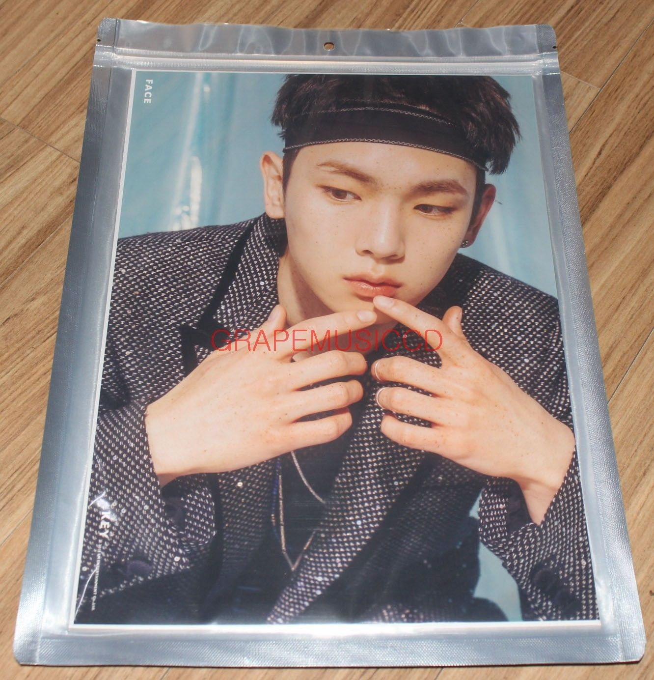 KEY SHINEE 1ST ALBUM FACE SMTOWN GIFTSHOP OFFICIAL GOODS A4 SIZE