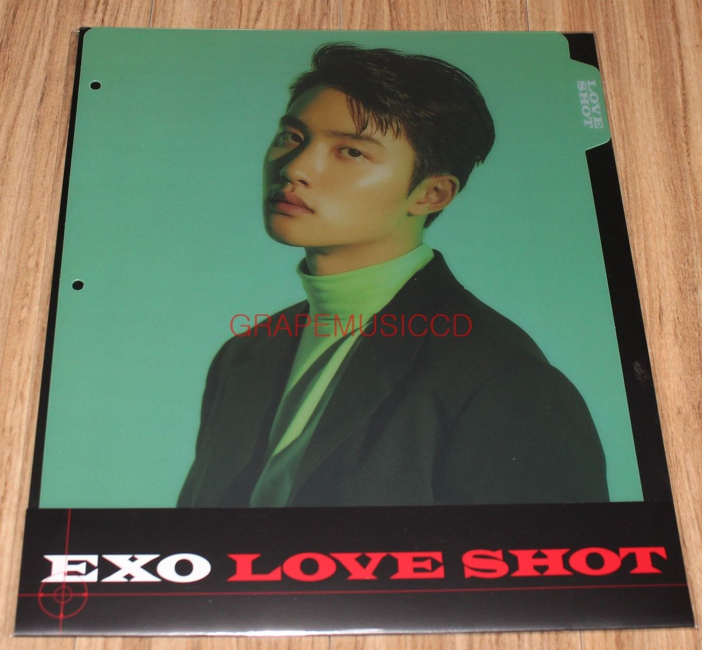 EXO LOVE SHOT SMTOWN GIFTSHOP OFFICIAL GOODS D O  BINDER INDEX