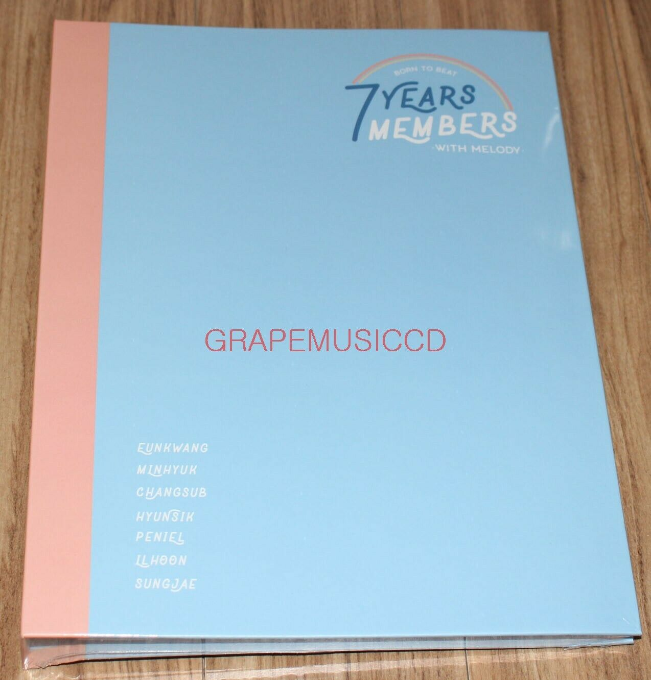 BTOB 7YEARS 7MEMBERS WITH MELODY OFFICIAL GOODS PHOTOCARD BINDER