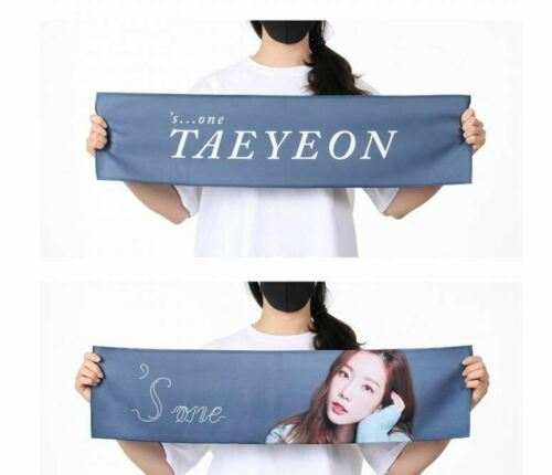 TAEYEON s   one CONCERT OFFICIAL GOODS SLOGAN TOWEL SEALED