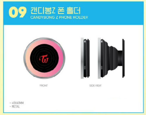 TWICE POPUP STORE Twaiis SHOP SEOUL OFFICIAL GOODS CANDYBONG