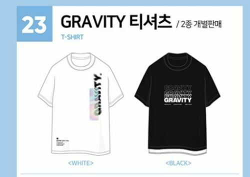 Day6 World Tour Gravity In Seoul Official Goods White T Shirt T